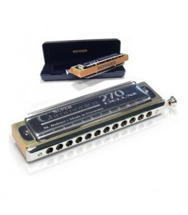 HARMONICA CHROMATIQUE HOHNER SUPER CHROMONICA DELUXE