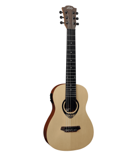 Lâg Tiki Uku Mini Guitar acoustic electric