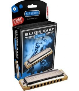 BLUES HARP DIATONIQUE 532/20 MS 10 TROUS