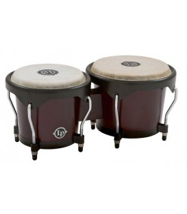 Latin Percussion bongos série City LP601NY dark wood