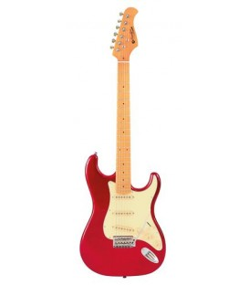 Prodipe Guitars ST80MA CANDY RED