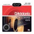 D'ADDARIO EXP12 COATED 80/20 13/56