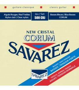 Savarez 500CRJ New Cristal Corum Rouge-Bleu