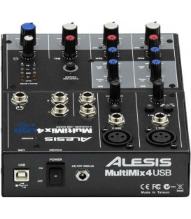 ALESIS MultiMix 4 Usb mixeur compact