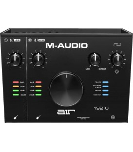 M-Audio AIR 192X6 interface audo usb-c midi