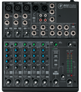 Mackie 802-VLZ4 Mixeur ultra-compact 8 canaux