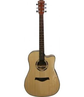 JM FOREST D2 CEQN GUITARE ACOUSTIQUE DREANOUGHT CUT ELECTRO