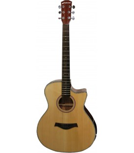 JM FOREST A2 CEQN GUITARE ACOUSTIQUE AUDITORIUM CUT ELECTRO