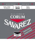 Savarez 500AR Alliance Corum Rouge Tirant normal