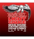 Ernie Ball Nickel wound custom gauge light 2208 11-52