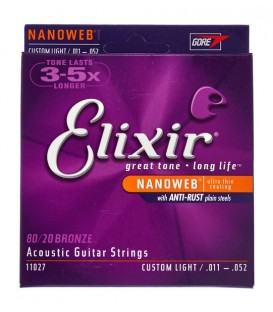 Elixir Nanoweb Custom Light 11/52